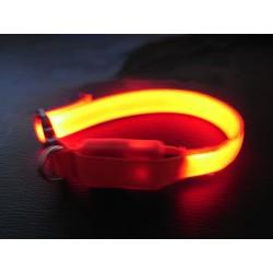 Collier LED Jaune